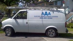 AAA Drains Truck